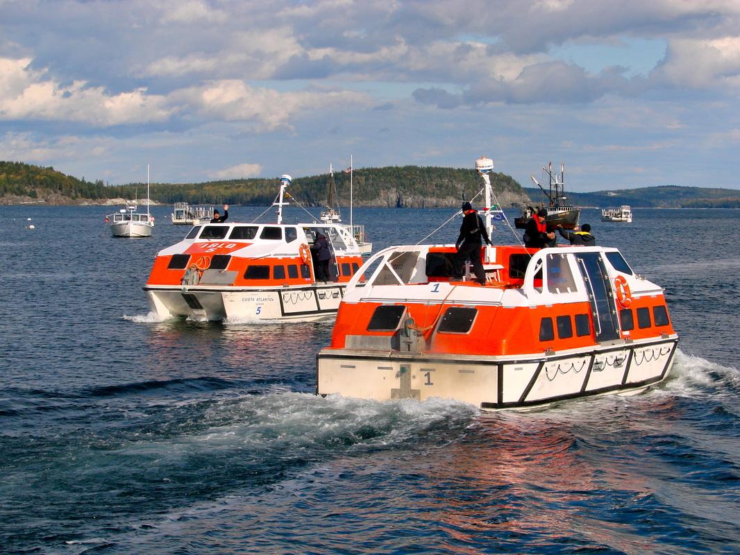 Bar Harbor Land Sea Acadia Memories Photography - Cruise ship bar harbor